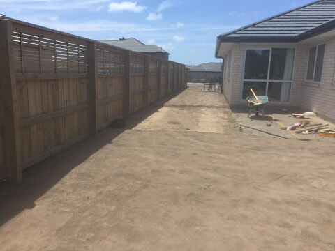 New lawn in Christchurch - ready lawn to be laid