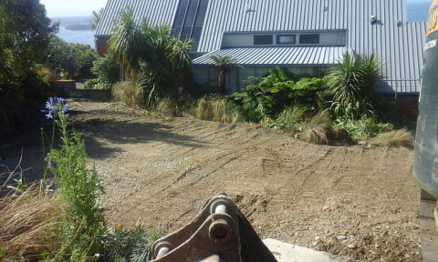 Finished demoltion - Panorama road christchurch
