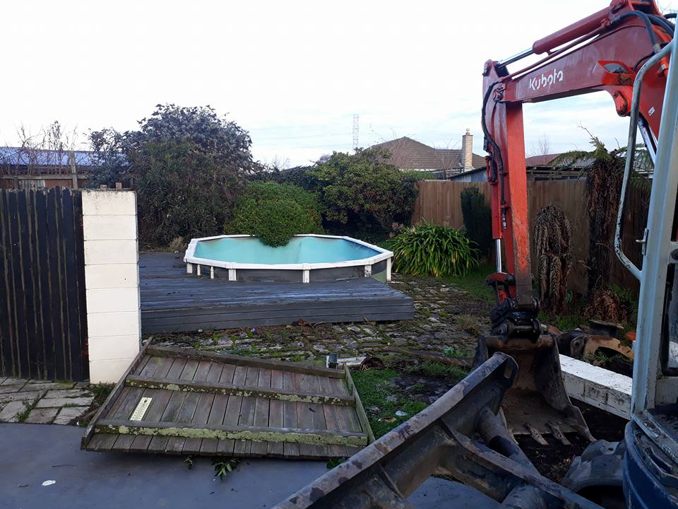 Pool removal, Christchurch