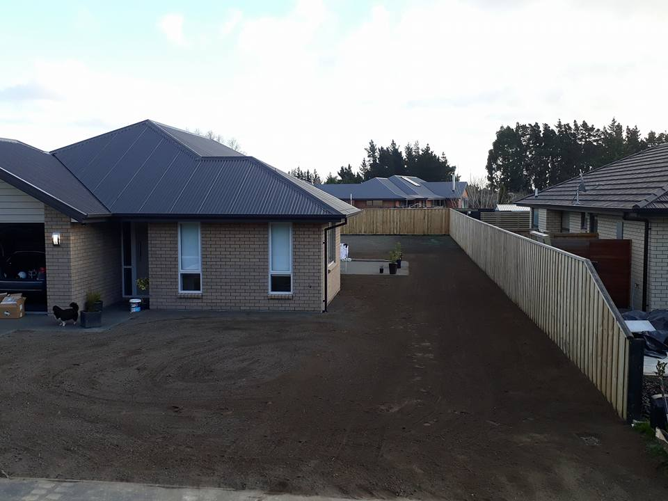 New 500m2 lawn in Rolleston, Christchurch